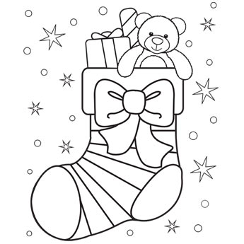 Christmas coloring #17, Download drawings