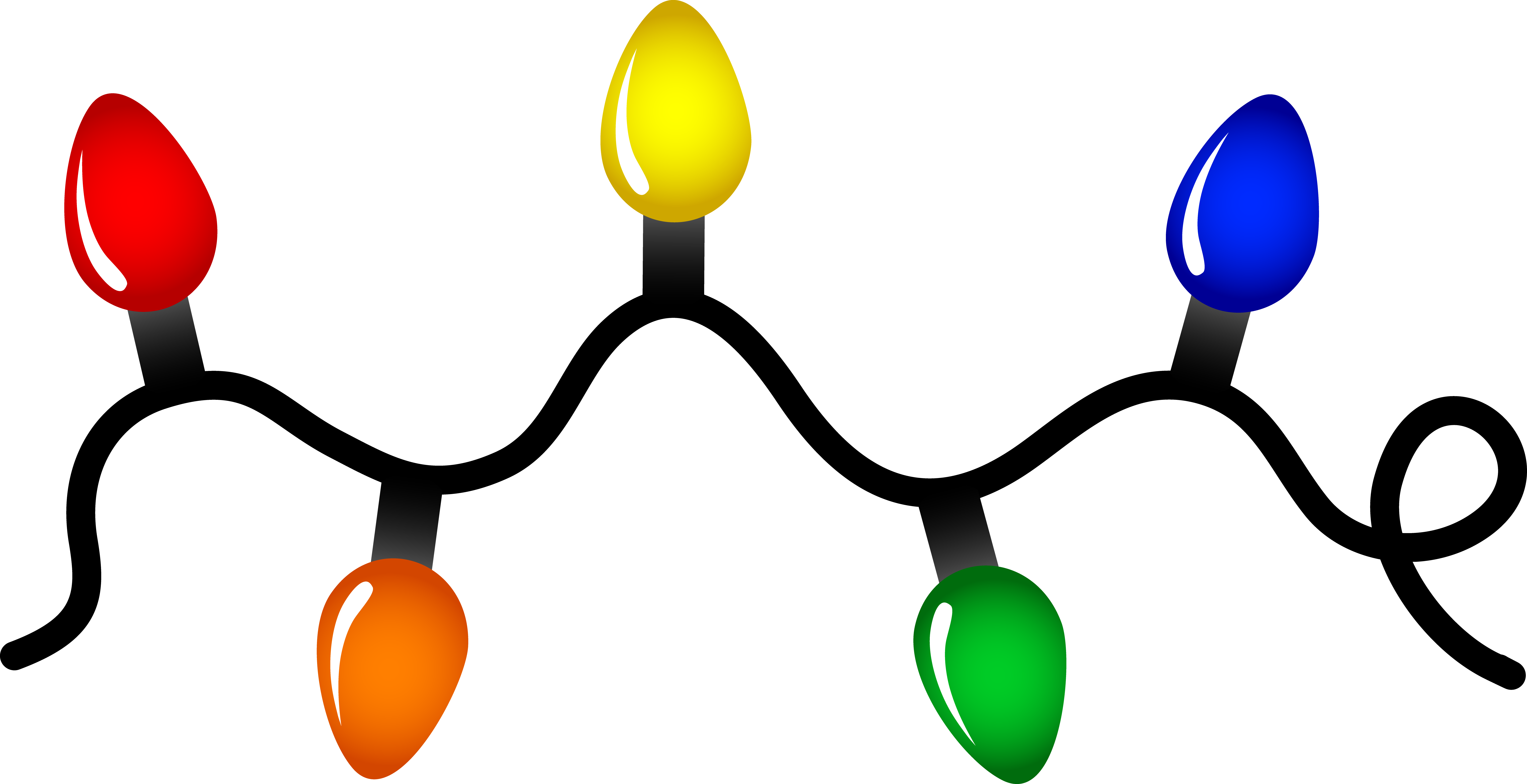 Christmas Lights clipart #3, Download drawings