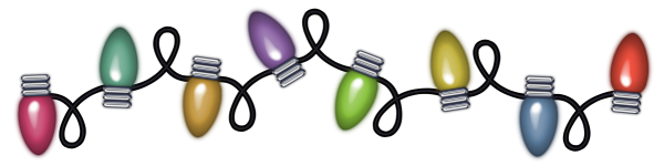 Christmas Lights clipart #4, Download drawings