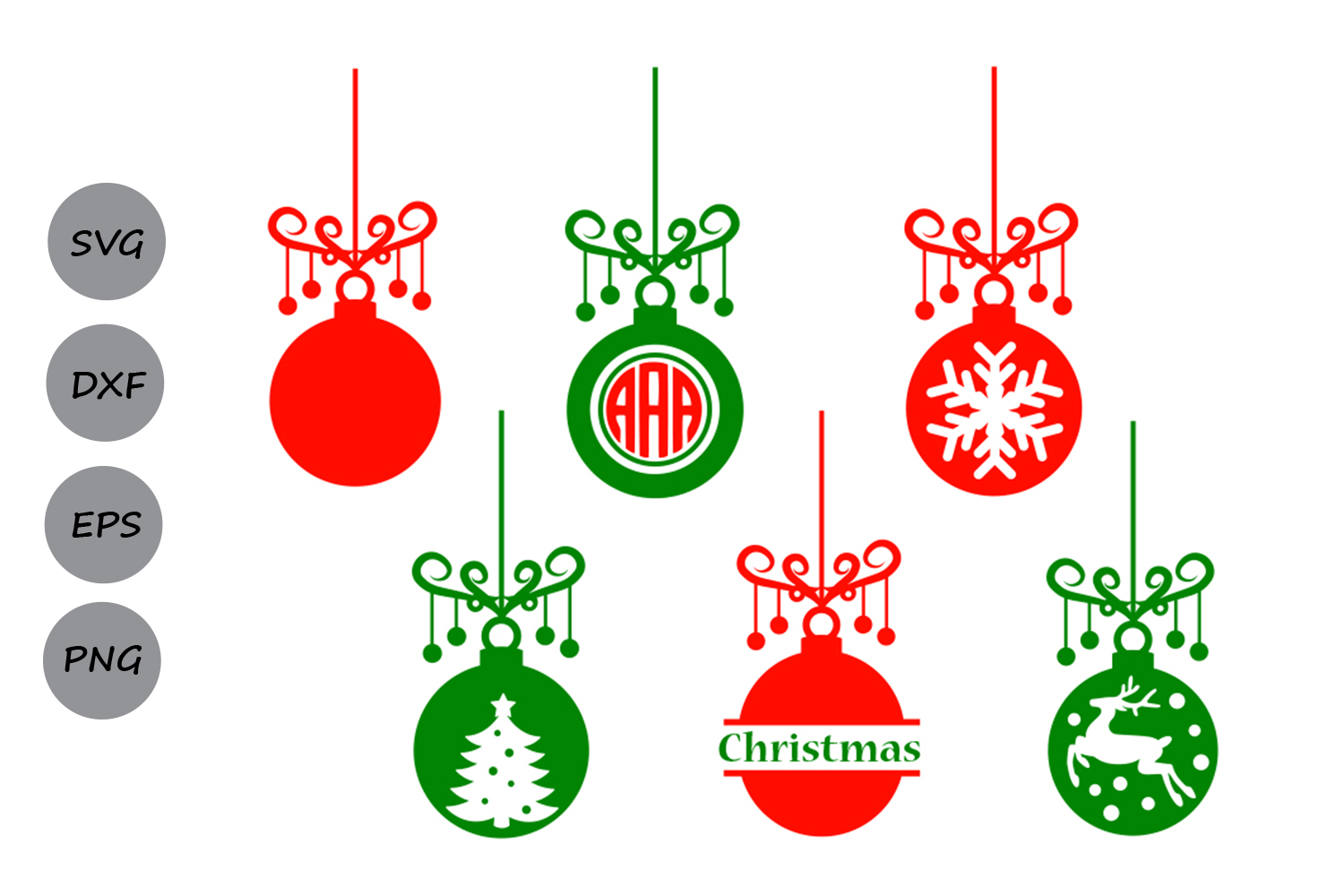 christmas ornament svg #1101, Download drawings