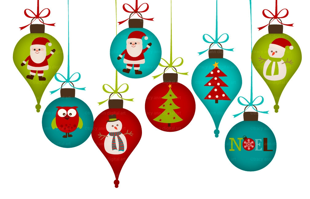 Christmas Ornaments clipart #3, Download drawings
