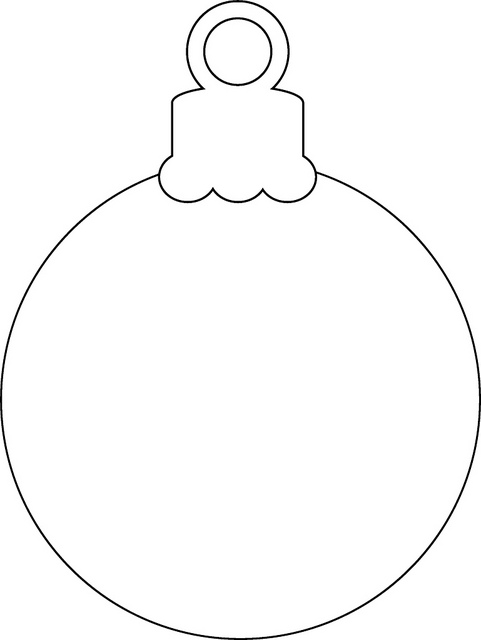 Christmas Ornaments coloring #7, Download drawings