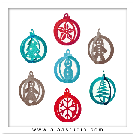 Christmas Ornaments svg #13, Download drawings