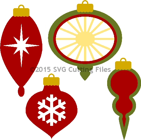Christmas Ornaments svg #14, Download drawings