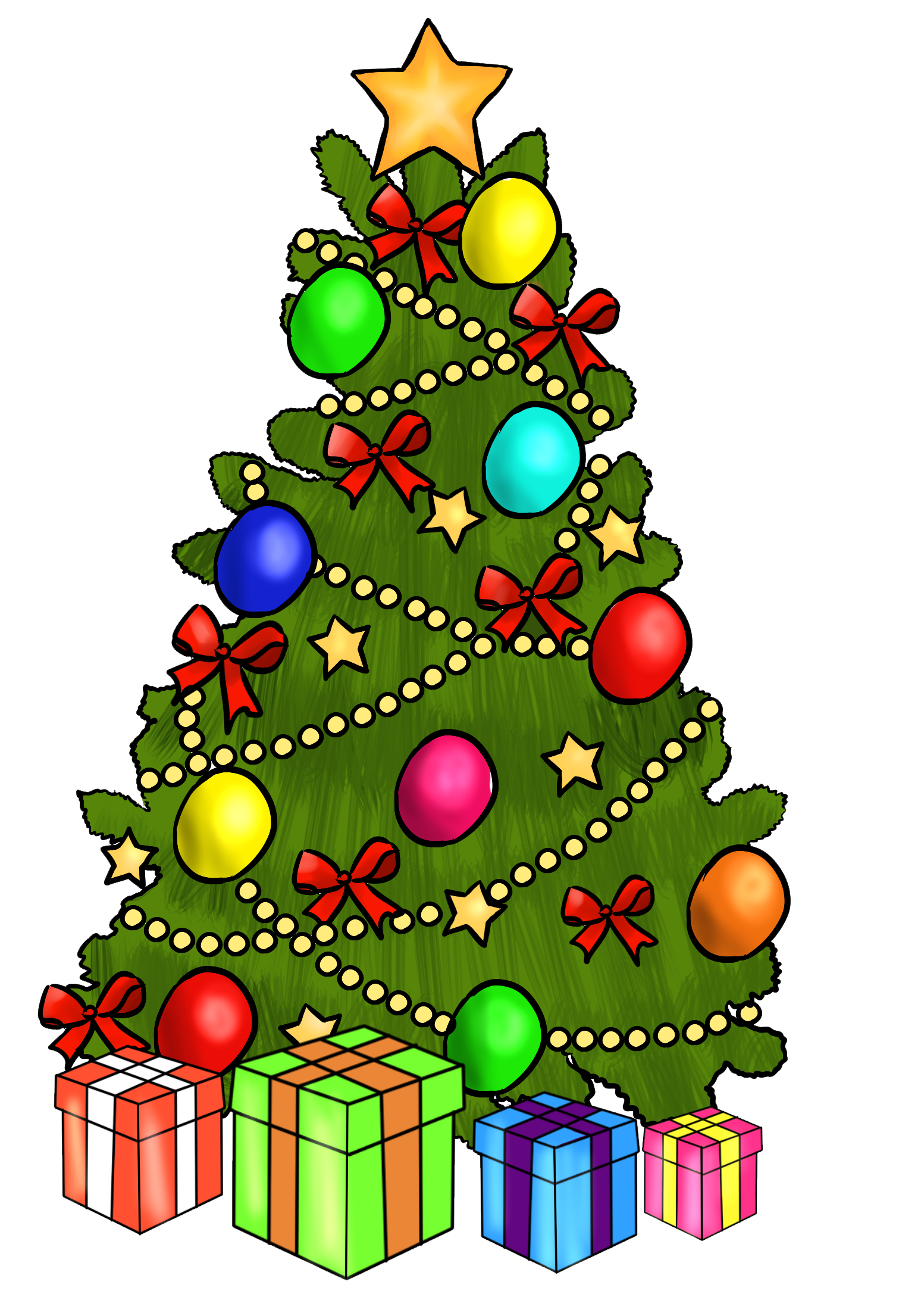 Christmas Tree clipart #15, Download drawings