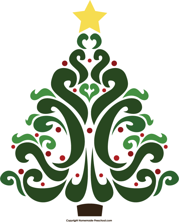 Christmas Tree clipart #1, Download drawings