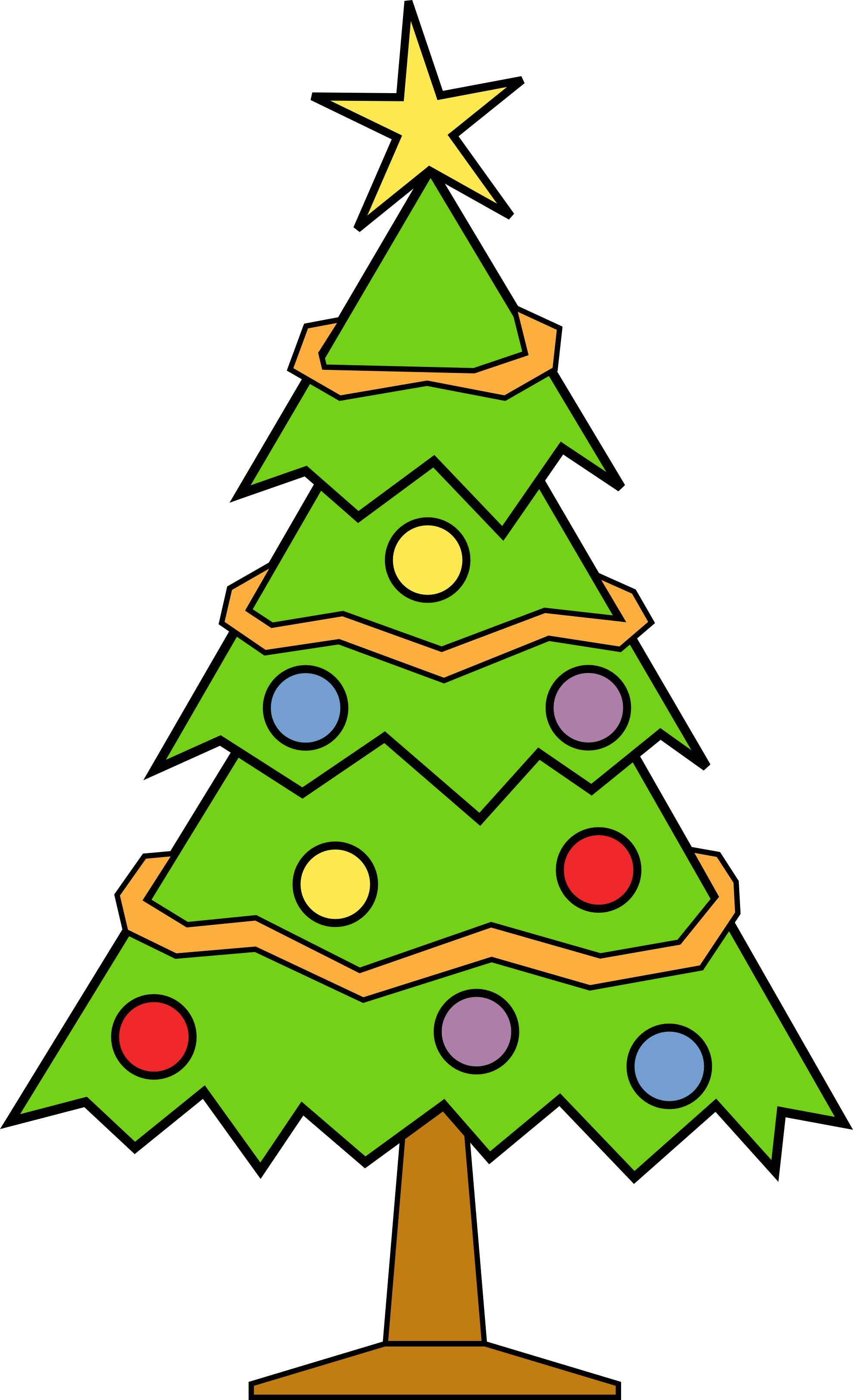Christmas Tree clipart #3, Download drawings