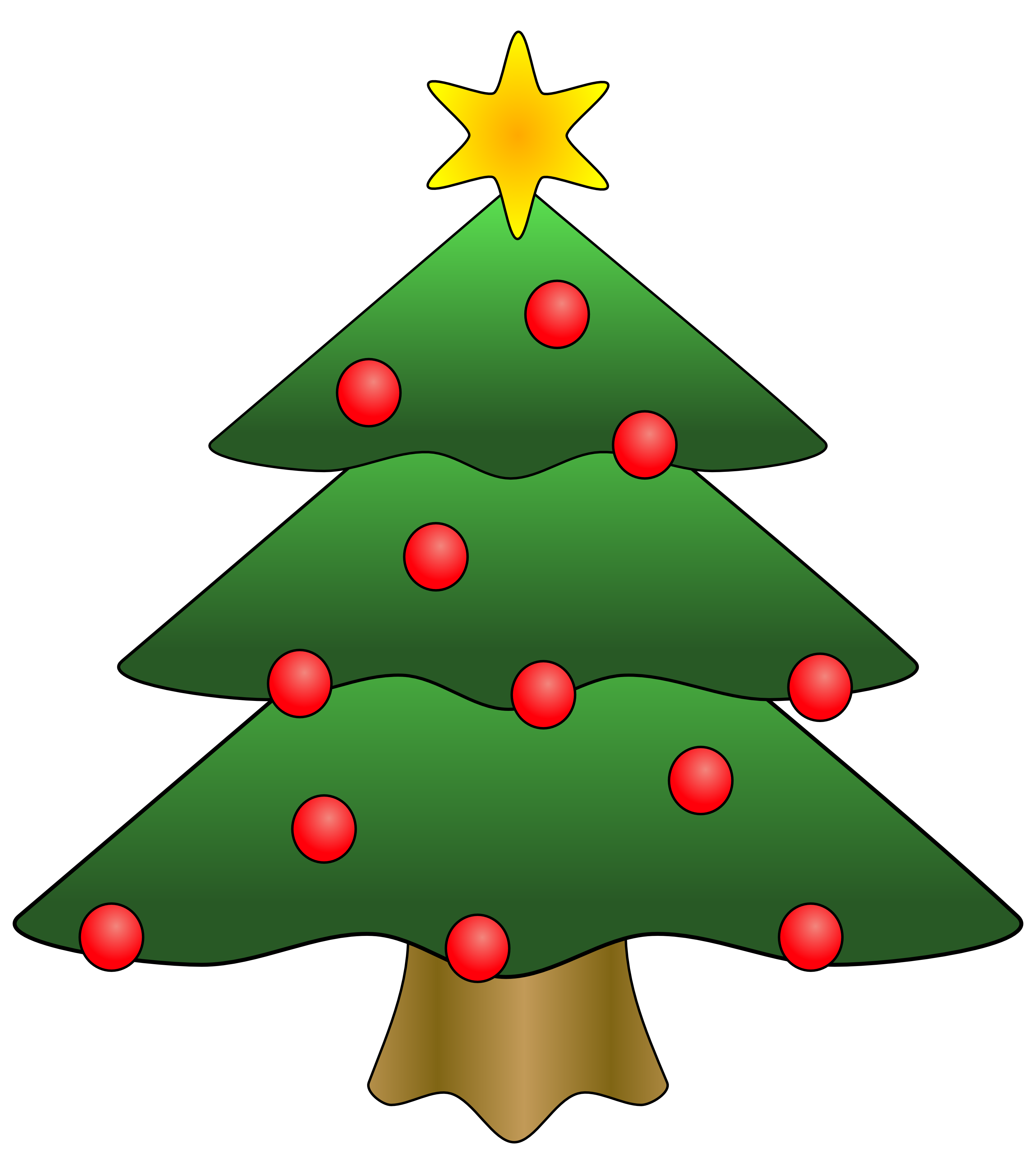 Christmas Tree clipart #6, Download drawings