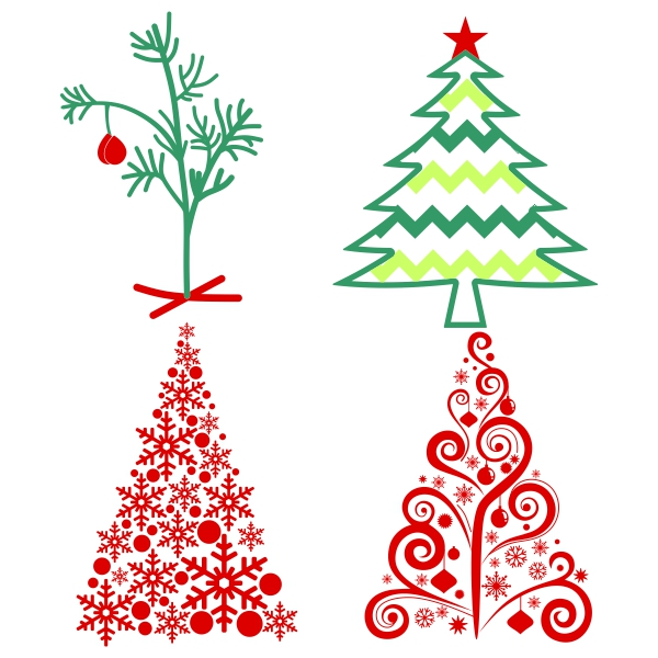 Christmas Tree svg #2, Download drawings