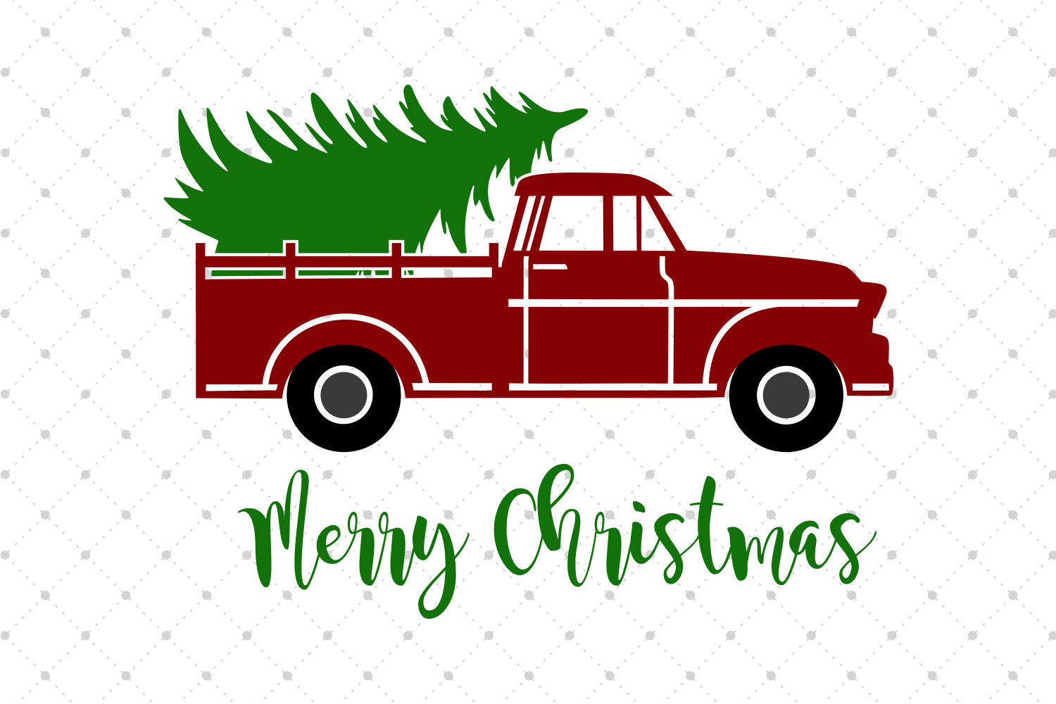 truck with christmas tree svg #1142, Download drawings