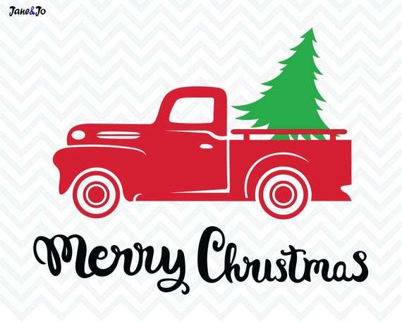 truck with christmas tree svg #1140, Download drawings
