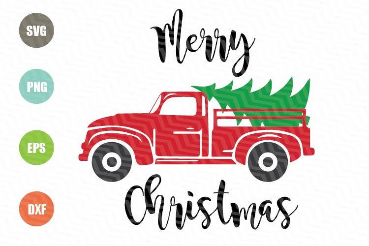 christmas tree truck svg #1093, Download drawings