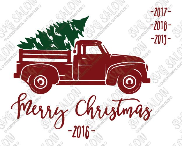 christmas tree truck svg #1091, Download drawings