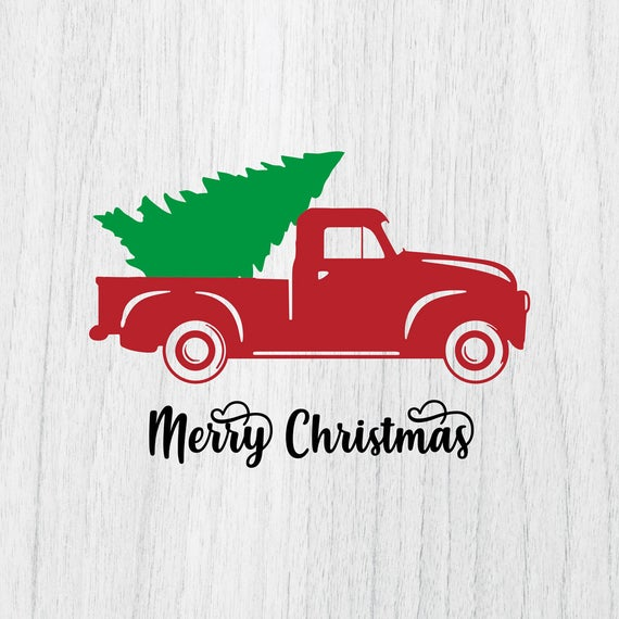 christmas tree truck svg #1094, Download drawings