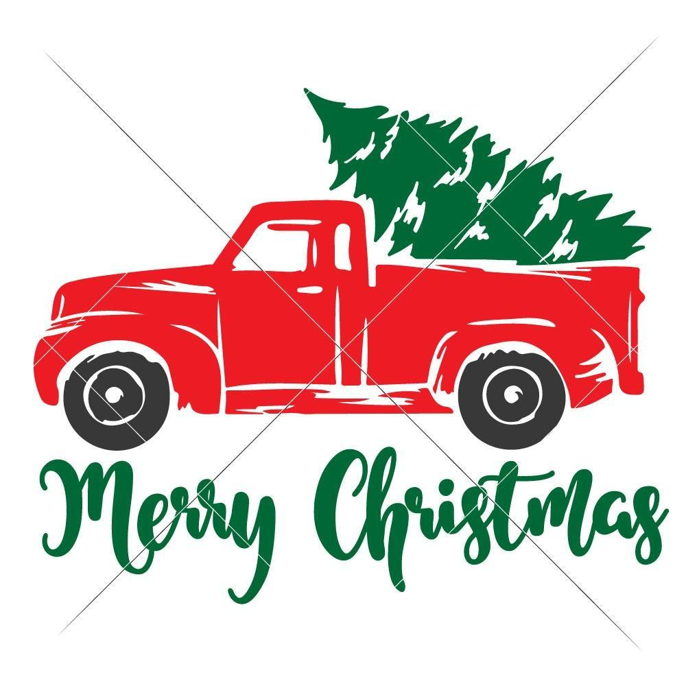 truck with christmas tree svg #1137, Download drawings