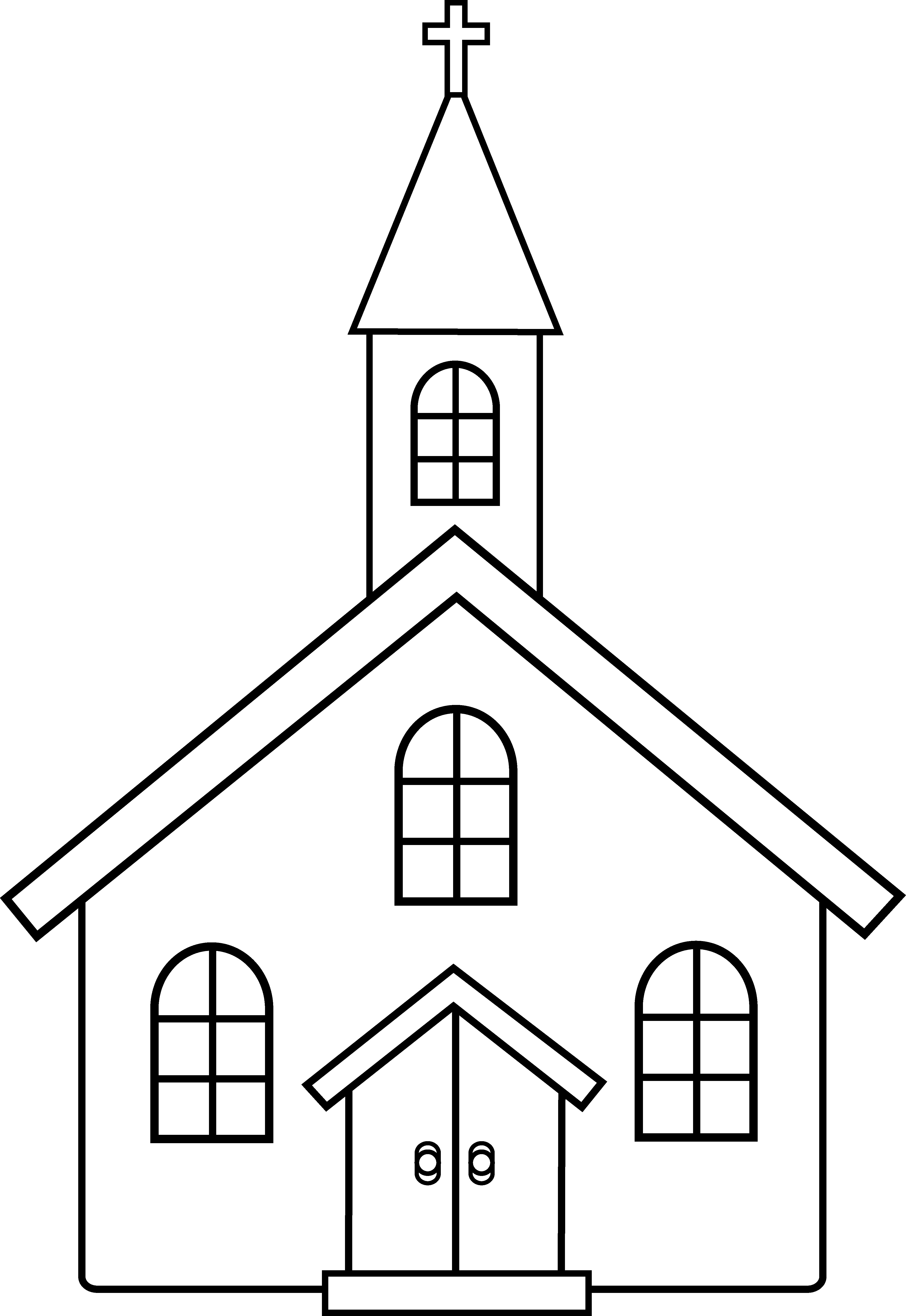 Church clipart #1, Download drawings
