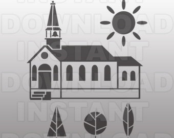 Church svg #4, Download drawings