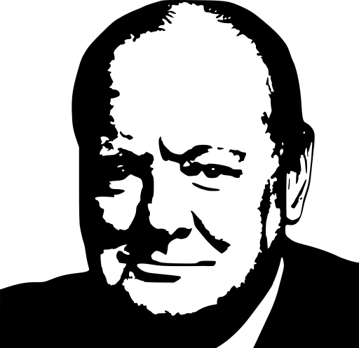 Churchill clipart #15, Download drawings