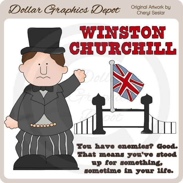 Churchill clipart #9, Download drawings