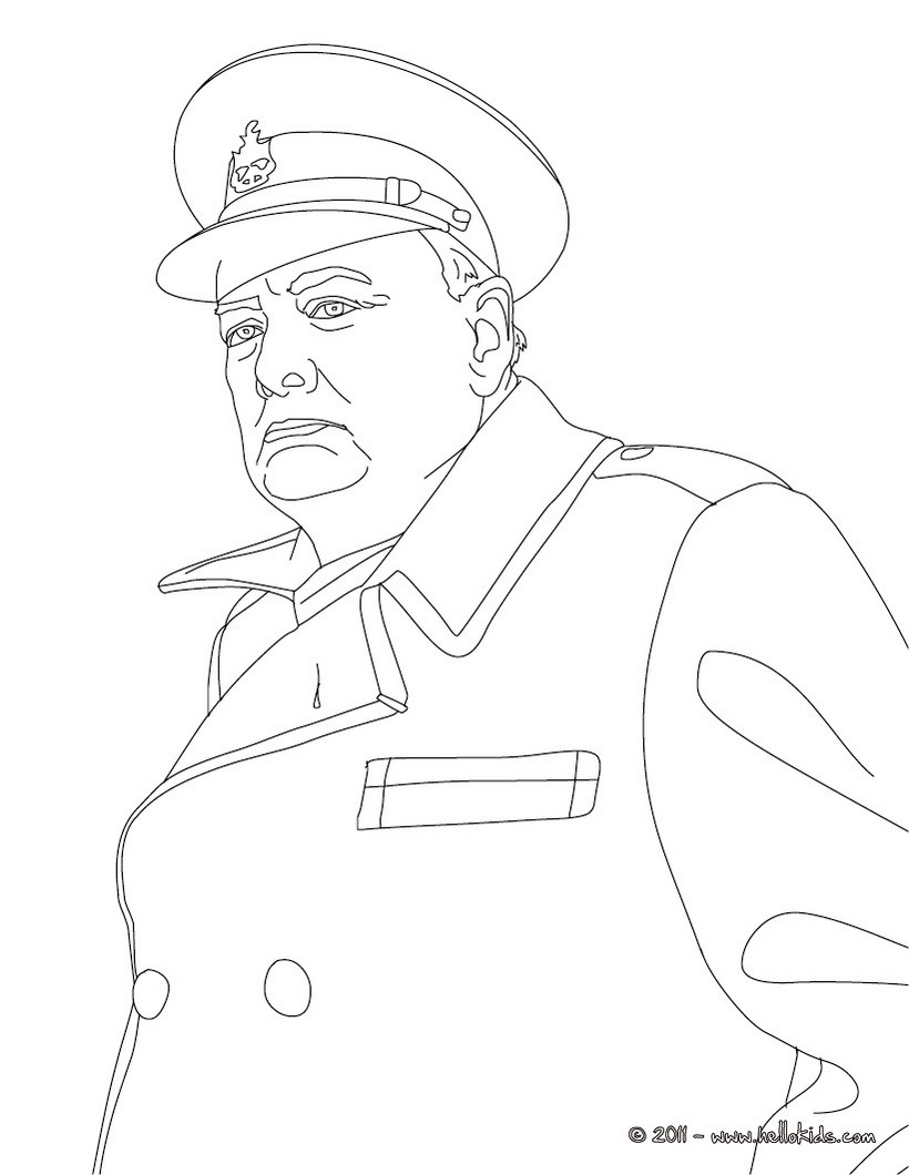 Churchill coloring #12, Download drawings