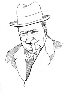 Churchill coloring #15, Download drawings