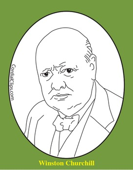 Churchill coloring #9, Download drawings