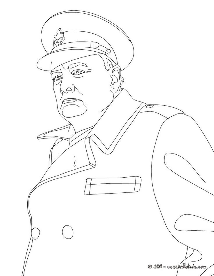 Churchill coloring #17, Download drawings