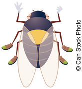 Cicada clipart #16, Download drawings