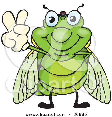 Cicada clipart #1, Download drawings
