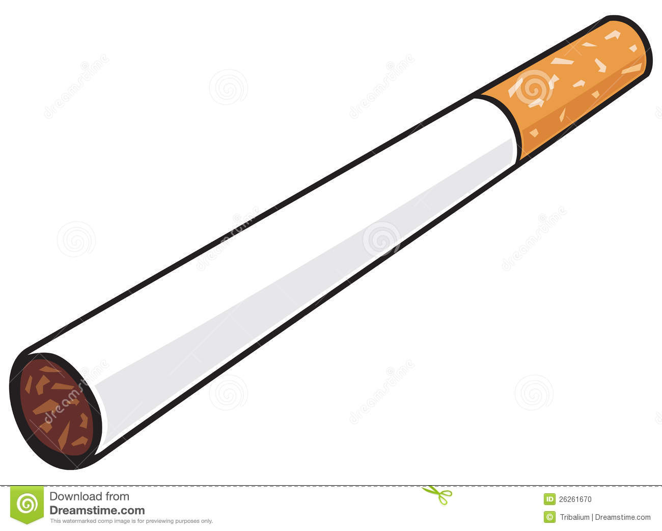 Cigarette clipart #3, Download drawings