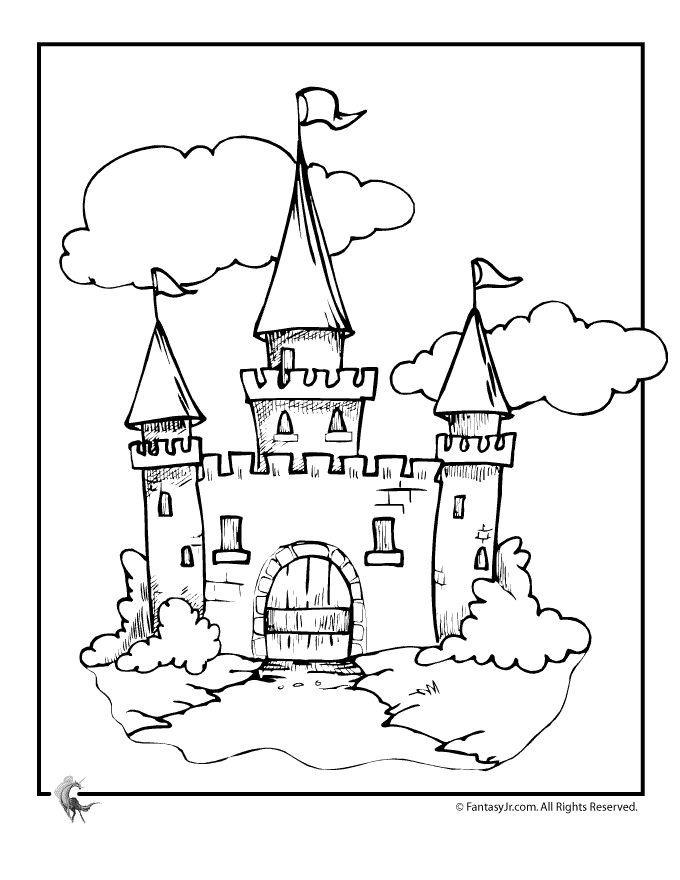 Cinderella's Castle coloring #6, Download drawings
