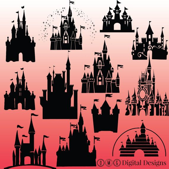 Cinderella's Castle svg #9, Download drawings