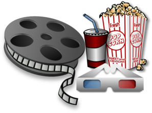 Cinema clipart #3, Download drawings