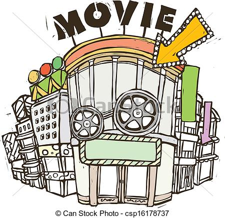 Cinema clipart #13, Download drawings