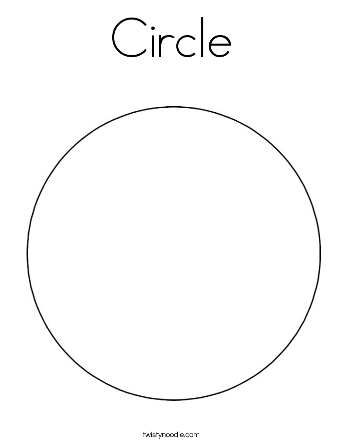 Circle coloring #20, Download drawings