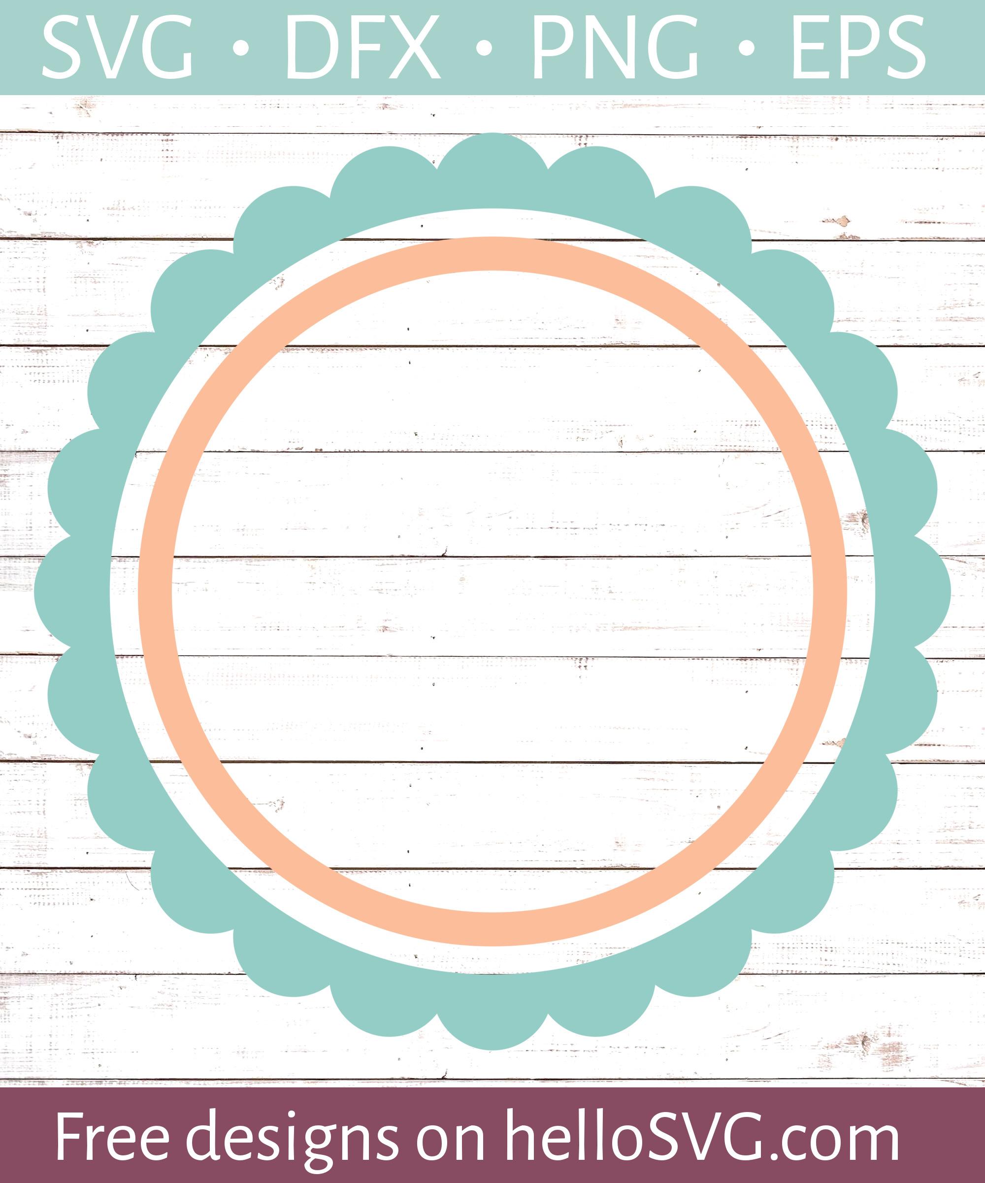 circle frame svg #1067, Download drawings