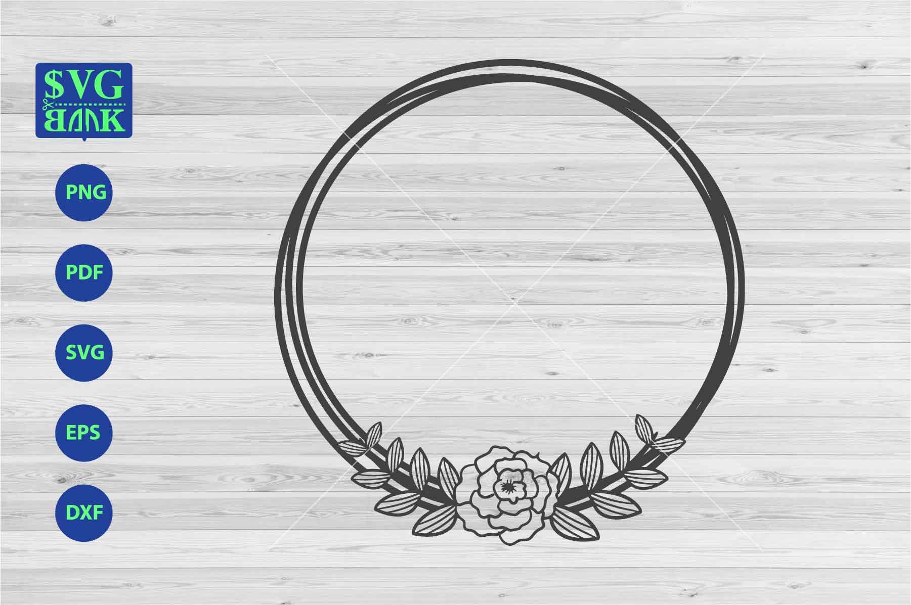 circle frame svg #1066, Download drawings