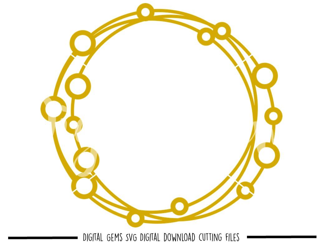 circle frame svg #1063, Download drawings