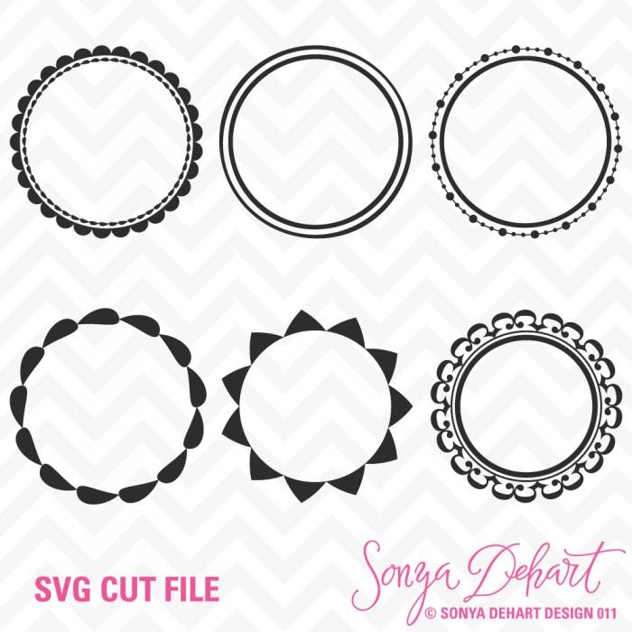 circle frame svg #1069, Download drawings