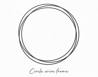 circle frame svg #1071, Download drawings