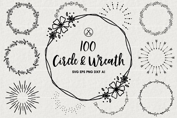circle wreath svg #116, Download drawings