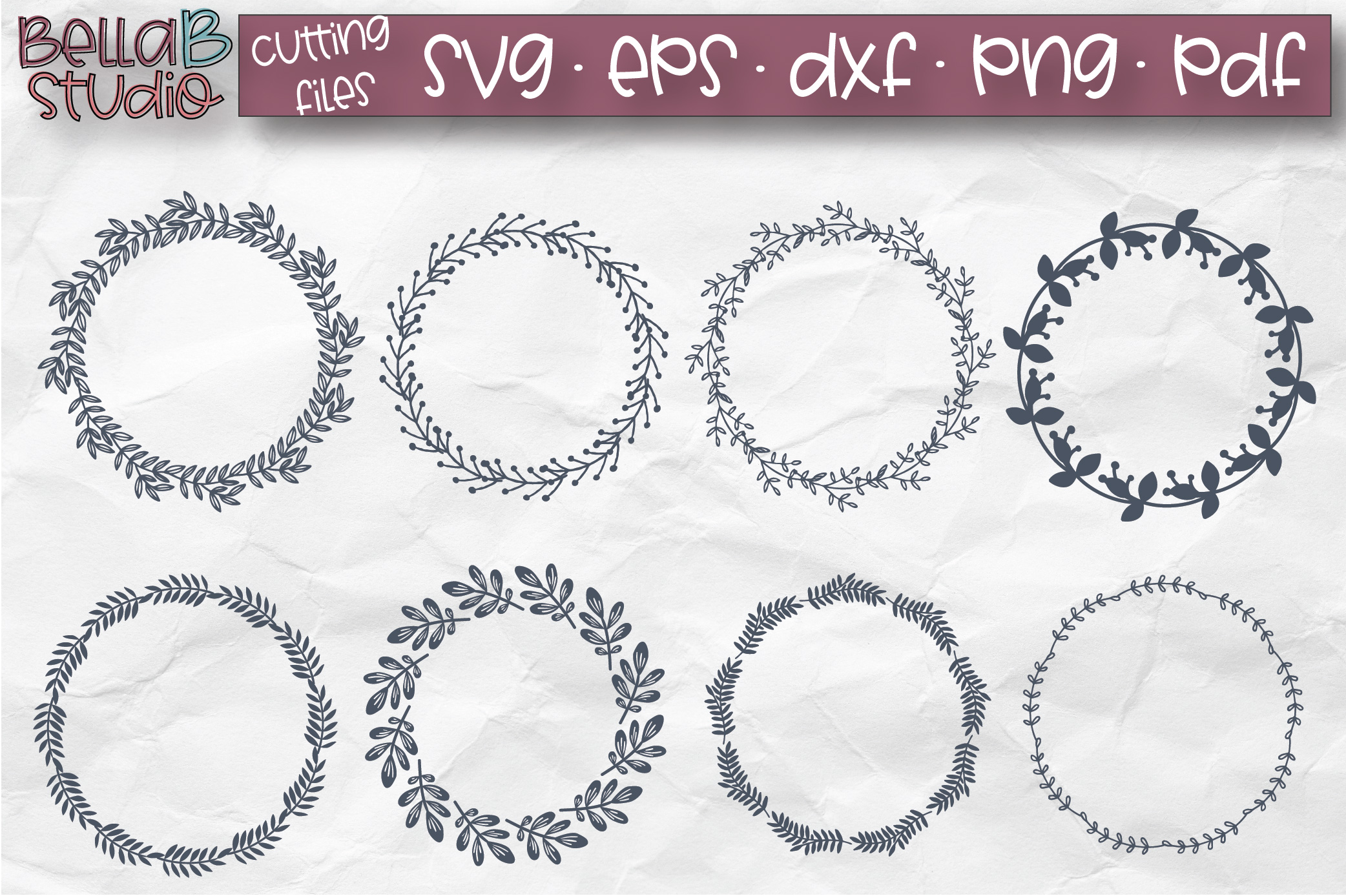 circle wreath svg #112, Download drawings