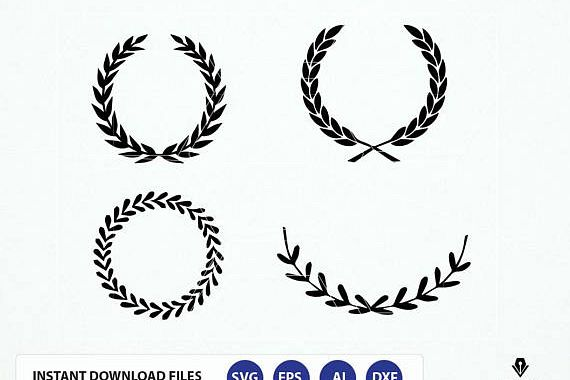 circle wreath svg #118, Download drawings