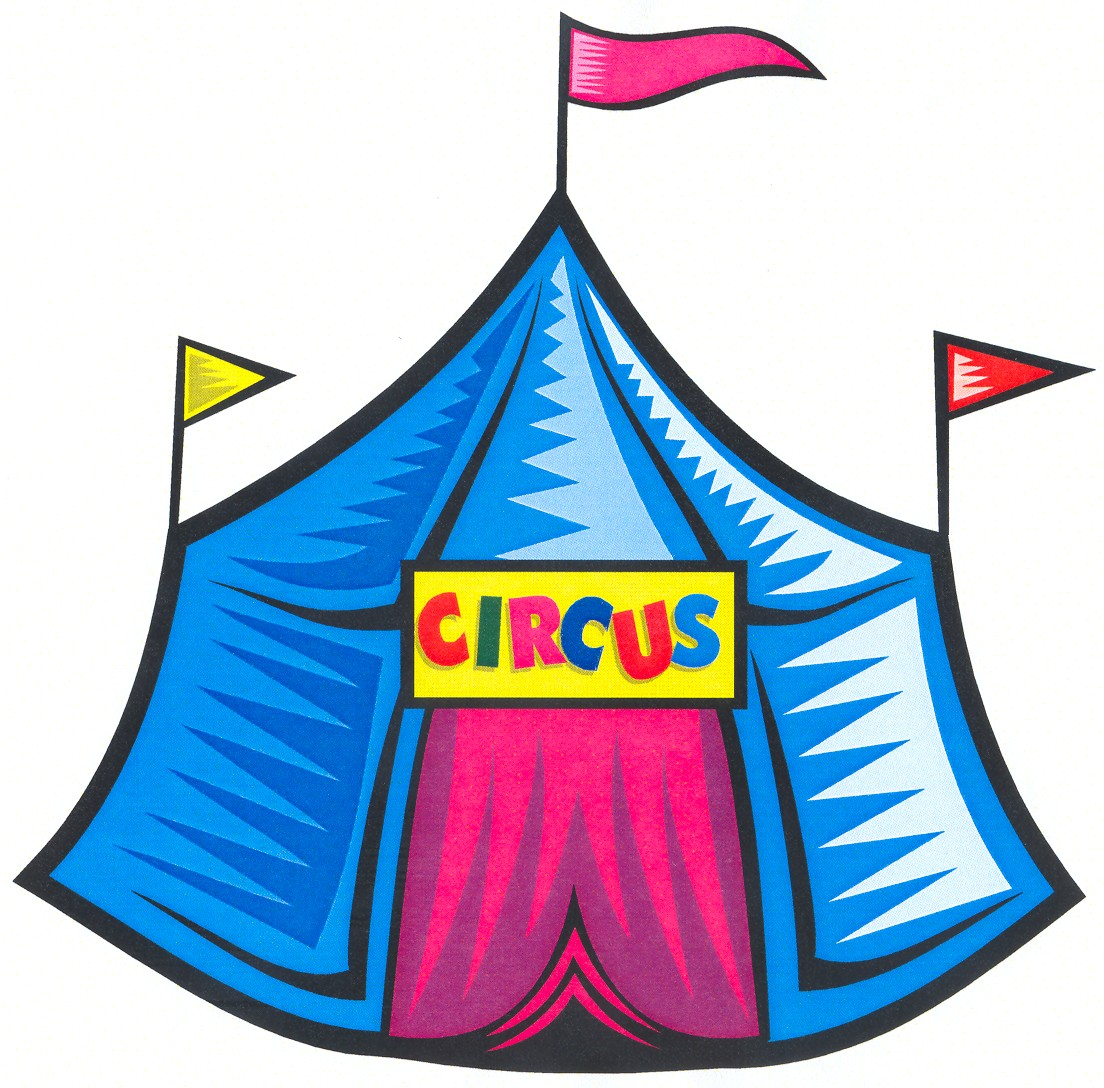 Circus clipart #2, Download drawings
