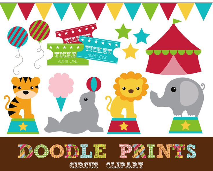 Circus clipart #1, Download drawings