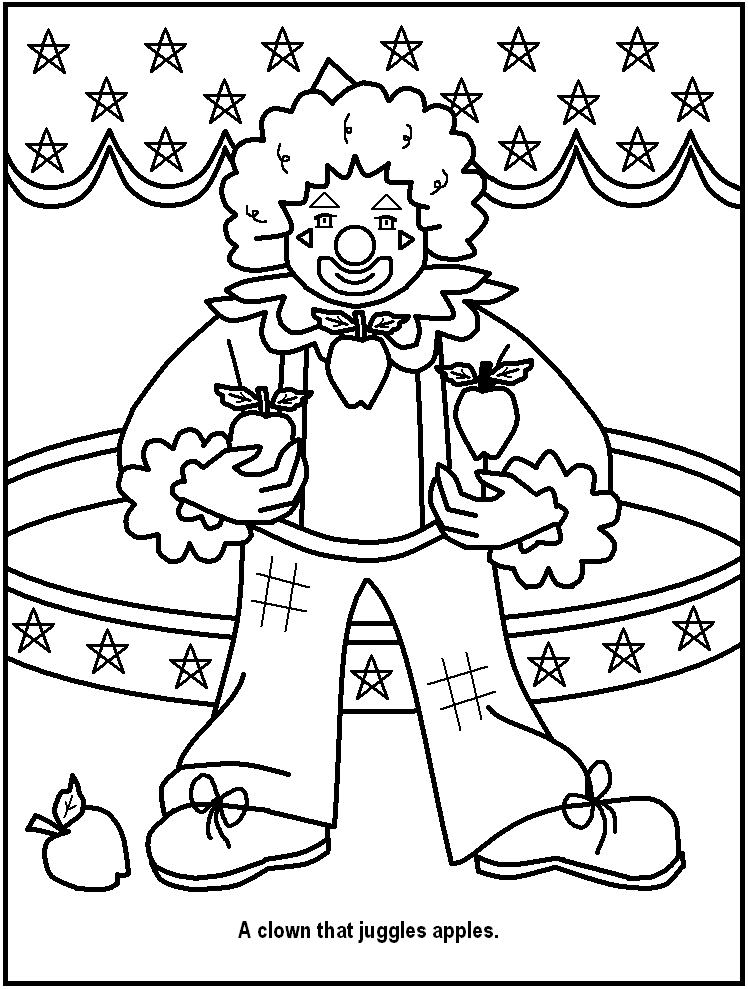 Circus coloring #10, Download drawings