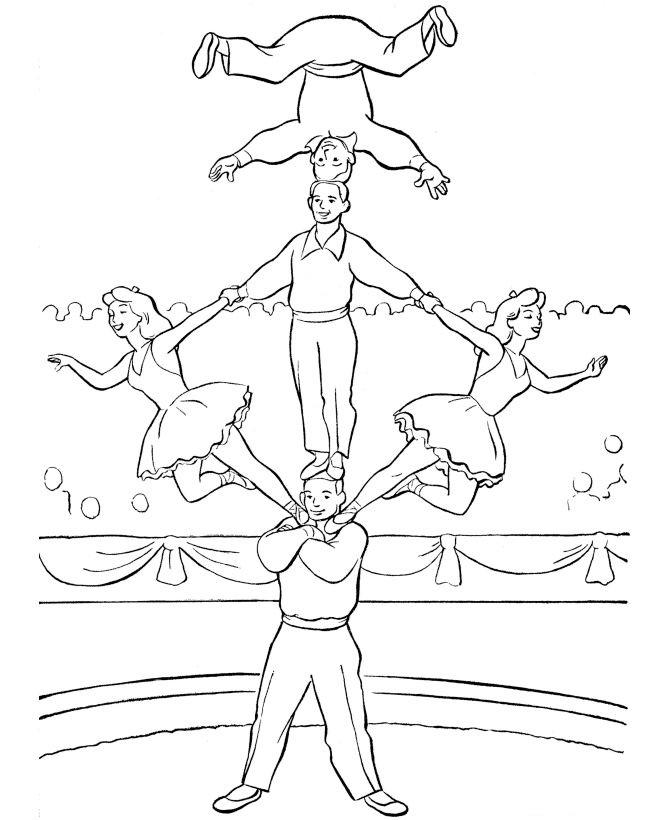 Circus coloring #9, Download drawings
