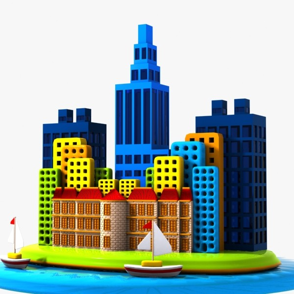 City clipart #5, Download drawings