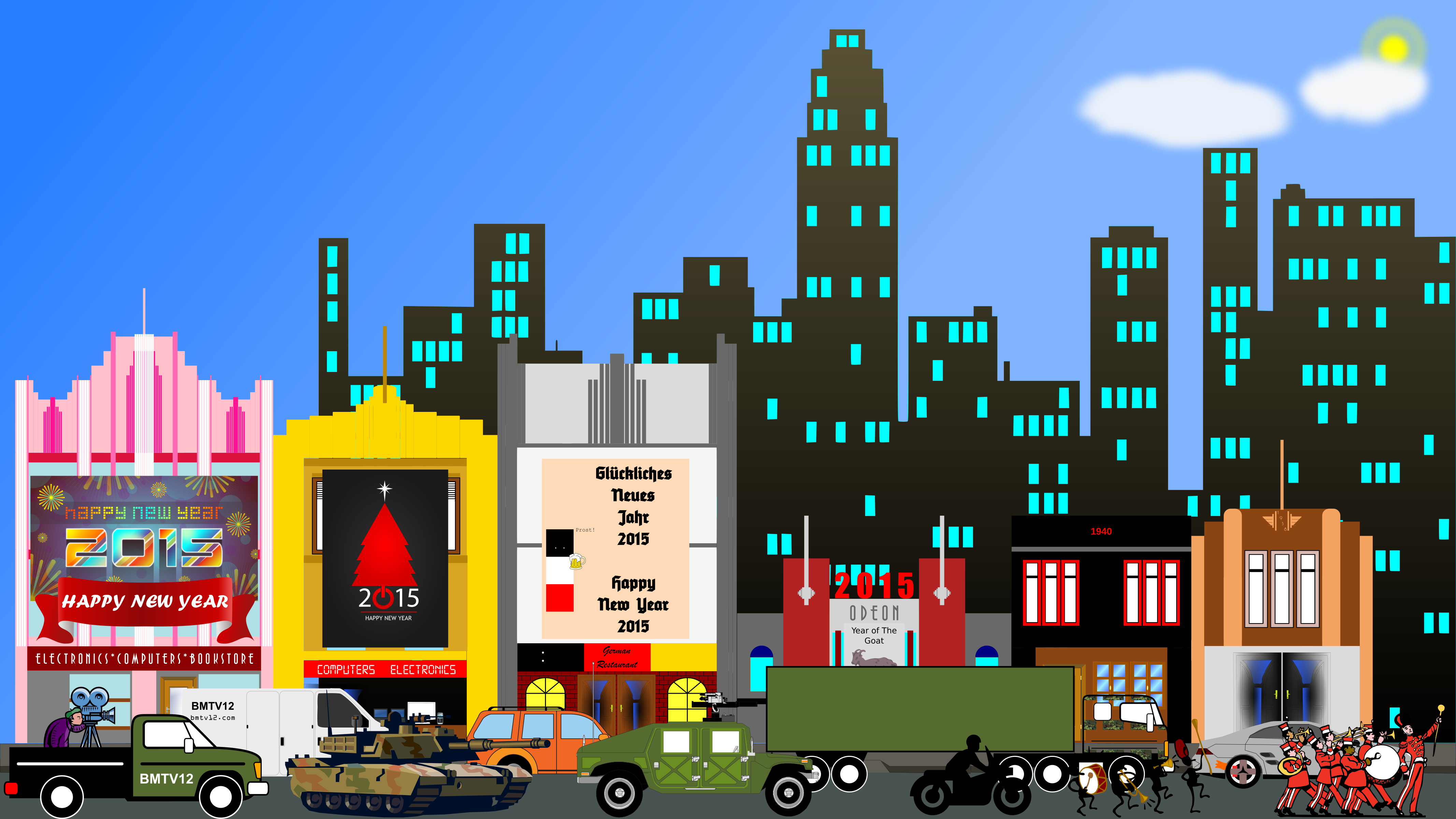 City clipart #1, Download drawings