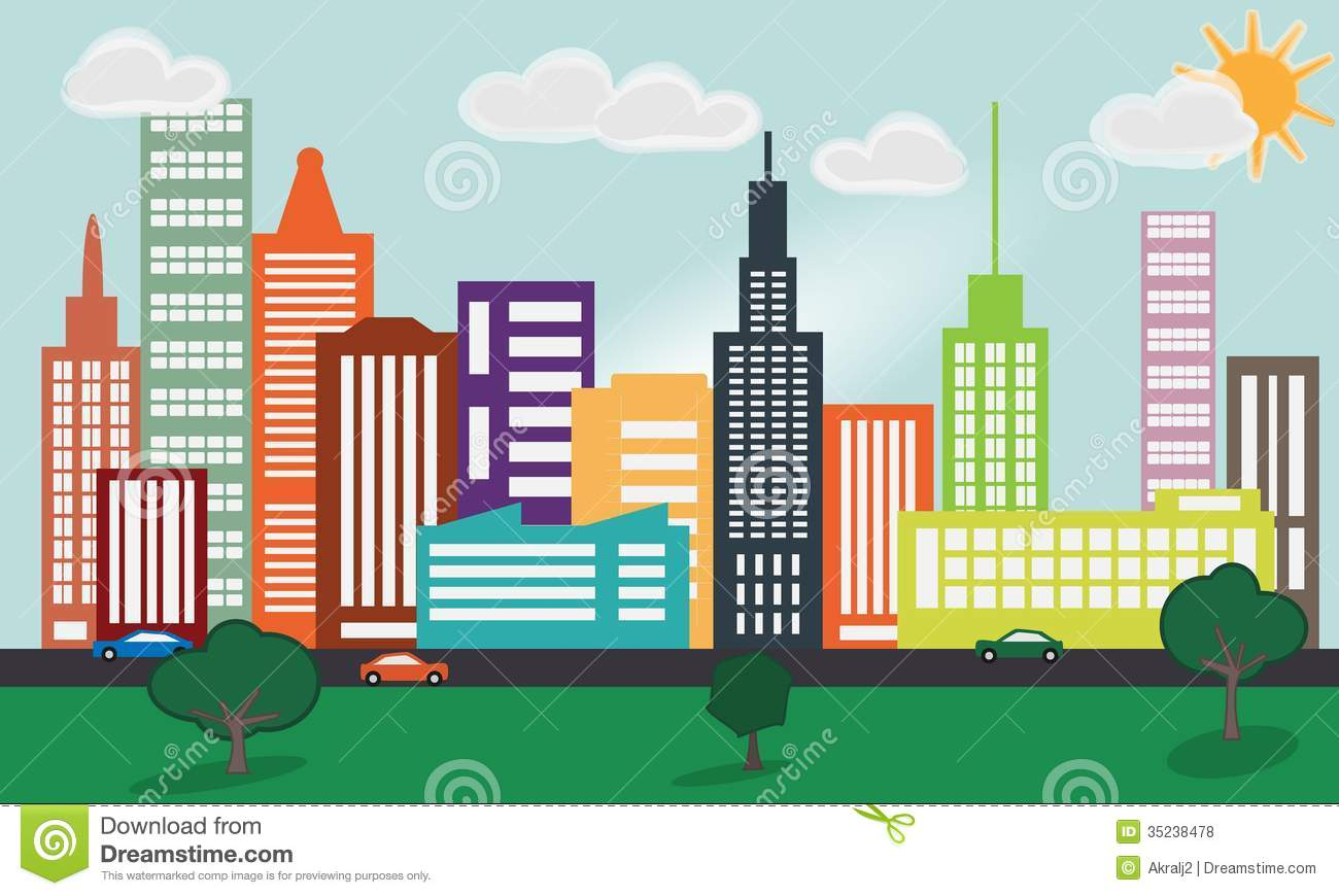 City clipart #19, Download drawings
